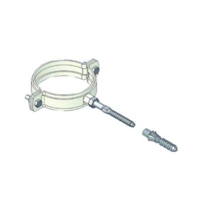 Tecnogas collare reggitubo d.80 con fischer codice 51053a