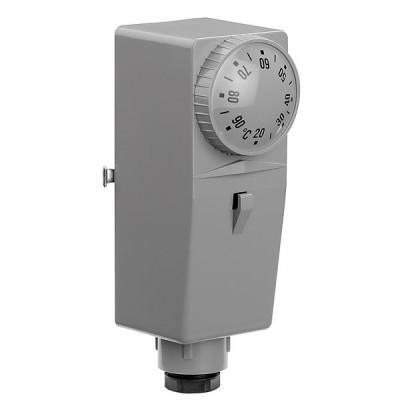 Caleffi termostato a contatto regolabile 20-90 c° 621000