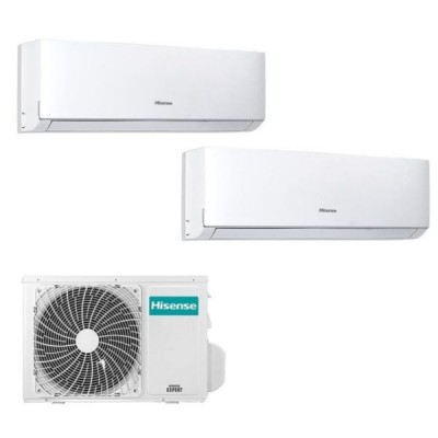 CLIMATIZZATORE HISENSE NEW COMFORT R32 DUAL 9000+12000+2AMW50U4RXA