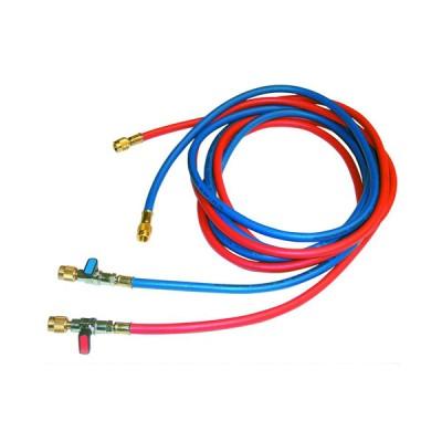 Tecnogas tubo rosso per vuoto e carico per gas refrigerante 1/4x5/16 codice 11447
