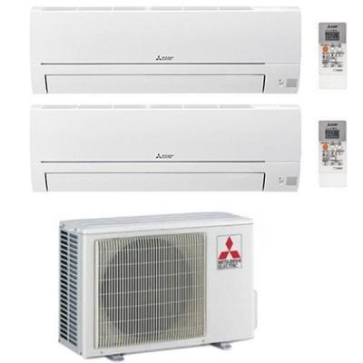 CLIMATIZZATORE MITSUBISHI HR DUAL SPLIT 9000+12000+MXZ-2HA50VF INVERTER