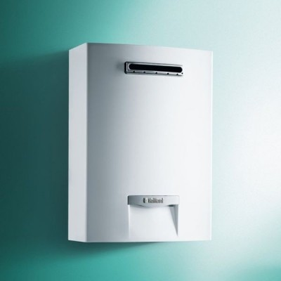 SCALDABAGNO A GAS VAILLANT OUTSIDEMAG 15 LT 158/1-5 RT LOW NOX PER ESTERNO